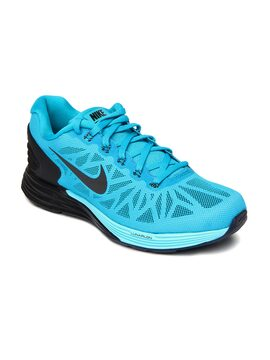 finest selection 39a24 fc94e Nike 0886066705154 Lunarglide 6 Mens Running Shoes Blue ...