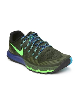 2d1a79bdf758 Nike 749334-300 Men Olive Green Air Zoom Terra Kiger 3 Running Shoes ...