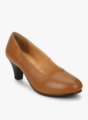 Tan Belly Shoes