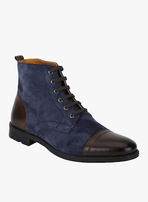 Navy Blue Boots