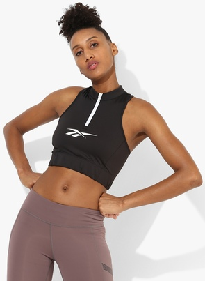 Lf Black Sports Bra