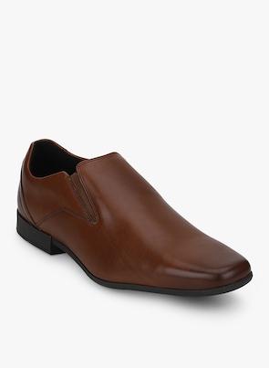Glement Slip British Tan Formal Shoes