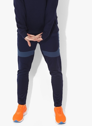 e2e5283899110 Navy Blue ftblNXT Dry-Cell Solid Track Pants