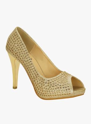 Golden Stilettos