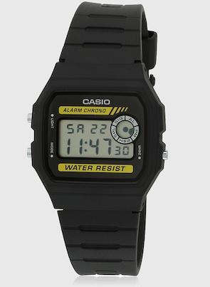 CASIO Vintage Series F 94Wa 9Dg  D053  Black/Black Digital Watch CASIO Watches