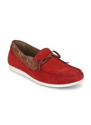 Red Boat Leather Shoes