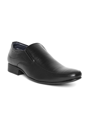 Men Black Semiformal Slip-Ons