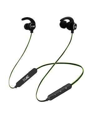 boAt Boat Rockerz 255 Neon Green Wireless Bluetooth In Ear Headphones With Mic Headphones