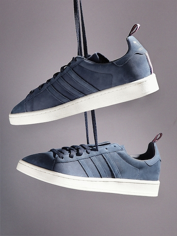 Leather Sneakers Off On Campus Men Navy 45 Originals Adidas 80Od0qw