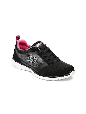 Buy Grey On Women Skechers Running Spirited amp; Shoes Microburst Black RO4PnqrO