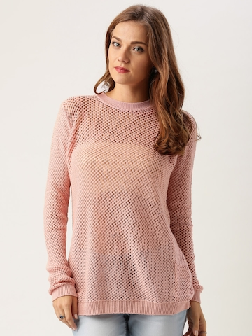 Buy All About You From Deepika Padukone Pink Split Back Sweater On