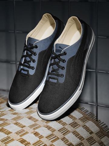 Blue Slyde DP Sneakers on Myntra