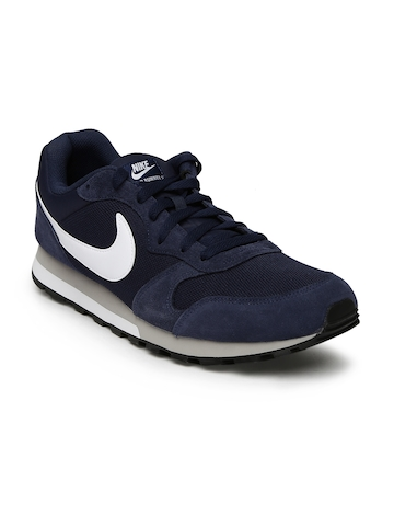 a919a49c852f 40% OFF on Nike Men Navy MD Runner 2 Running Shoes on Myntra ...