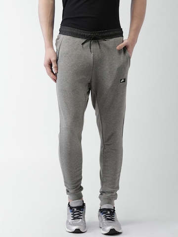 Buy Nike Grey Melange AS M NSW MODERN JOGGER FT Joggers on Myntra ... d419878c2df1