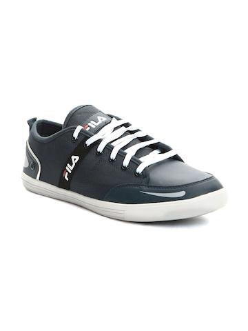 FILA Men Navy Solid Destroy IV Sneakers