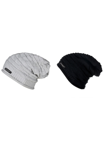 01adca42cc0 65% OFF on NOISE Unisex Set of 2 Beanies on Myntra