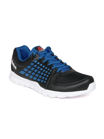 d783e3b702df 60% OFF on Reebok Men Black Electrify Speed Running Shoes on Myntra ...