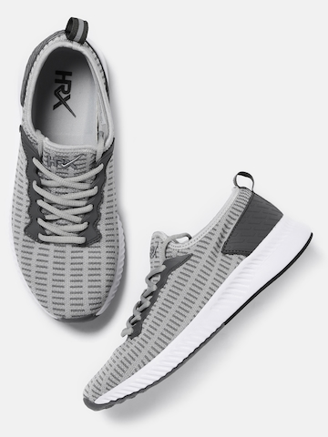 36ea10ec367 30% OFF on HRX by Hrithik Roshan Men Grey HRX1612 Running Shoes on Myntra