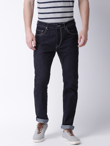 Moda Rapido Men Blue Slim Fit Mid-Rise Clean Look Jeans