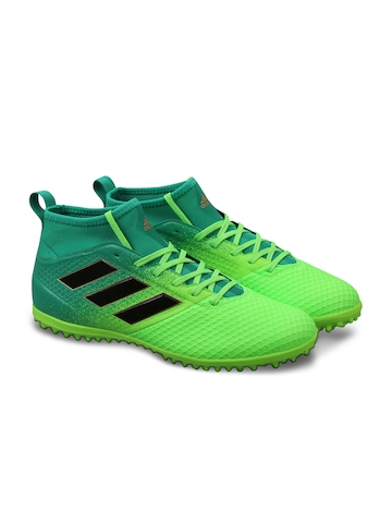 a547edf39b7e Buy Adidas Men Green Ace 17.3 Primemesh FG Mid-Top Indoor Football Shoes on  Myntra | PaisaWapas.com