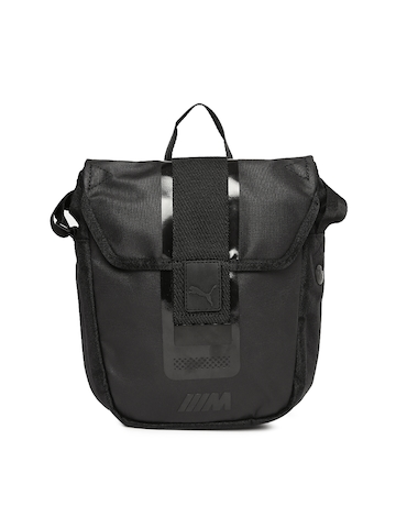 b189d6e0847a 50% OFF on Puma Unisex Black BMW M Collection Portable Messenger Bag on  Myntra