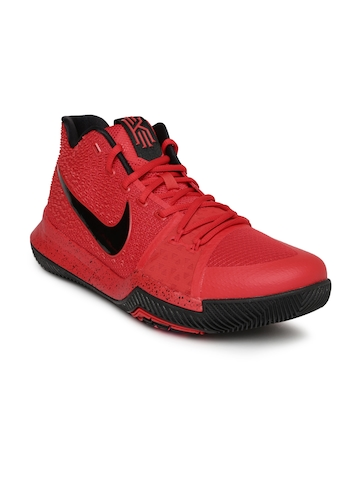 316cc5b7c1cf Buy Nike Men Red KYRIE 3 EP Basketball Shoes on Myntra
