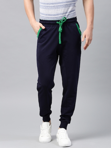 HRX Active by Hrithik Roshan Navy Joggers