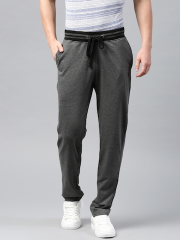 HRX Active by Hrithik Roshan Charcoal Grey Track Pants