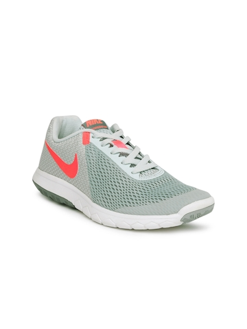 5dfff9b835ae 35% OFF on Nike Women Grey FLEX EXPERIENCE RN 6 Running Shoes on Myntra