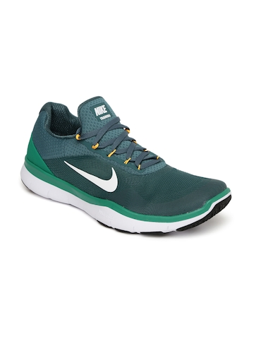 f0b5992d4ca1e Buy Nike Men Teal Green FREE TRAINER V7 Training Shoes on Myntra ...