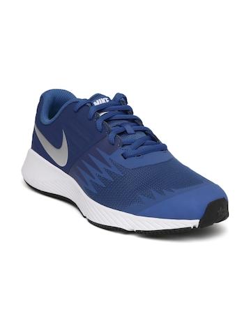 893db476996 35% OFF on Nike Boys Blue STAR RUNNER (GS) Running Shoes on Myntra ...