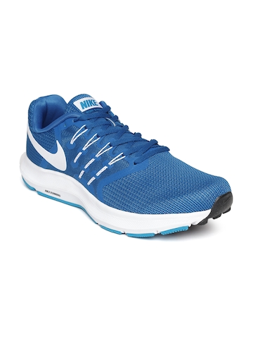 80aa046fda5e 40% OFF on Nike Men Blue Swift Running Shoes on Myntra