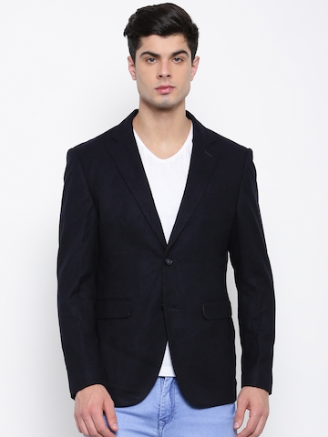 U.S. Polo Assn. Navy Single Breasted Smart Casual Blazer