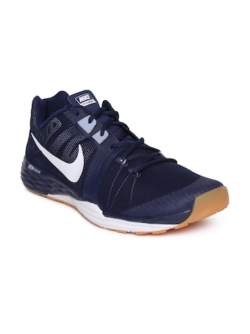 37d31f290905d 35% OFF on Nike Men Blue NIKE TRAIN PRIME IRON Training Shoes on Myntra