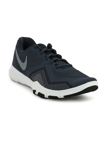 2711b2ff3b982 40% OFF on Nike Men Navy Blue FLEX CONTROL II Training Shoes on Myntra