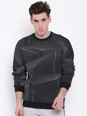 66b2d40da 35% OFF on Adidas Originals Men Black NMD CREW AOP Printed Sweatshirt on  Myntra