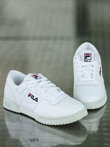 6c2d1c9c6b11 Buy FILA Men White Original Fitness Ripple Leather Sneakers on Myntra