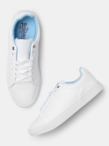white sneakers for women myntra