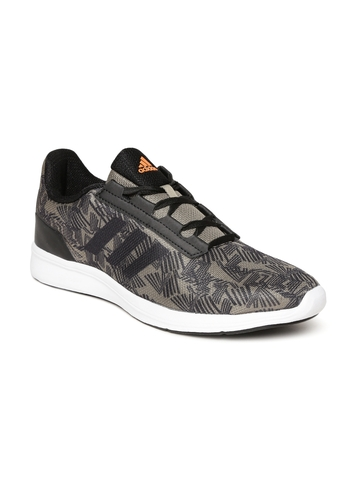 480f8358ccf Buy Adidas Men Olive Green   Navy Adipacer 2.0 Printed Running Shoes on  Myntra