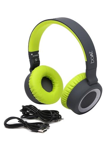 Buy Boat Black Green Rockerz 430 Bluetooth Headphones With Mic On Myntra Paisawapas Com