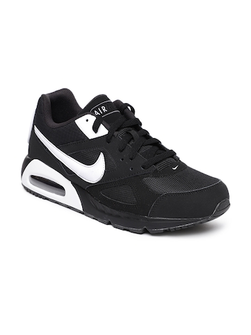2187a19e7daf Buy Nike Men Black Air Max IVO Sneakers on Myntra