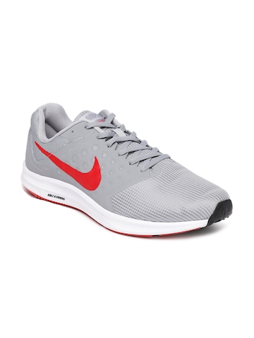 69e0b0d954b 35% OFF on Nike Men Grey Downshifter 7 Running Shoes on Myntra ...