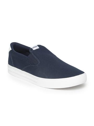 Buy Adidas Men Blue Slip-On Sneakers on Myntra  05dc684b5cd1f
