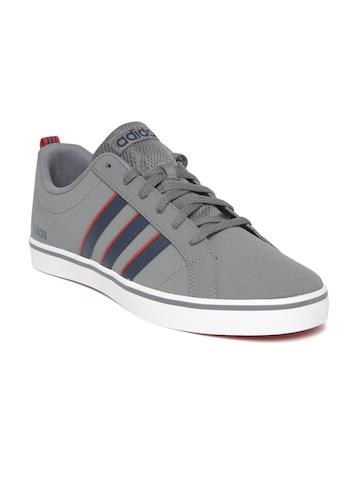 watch 8e2f2 58e77 Buy Adidas Men Grey VS PACE Sneakers on Myntra  PaisaWapas.c