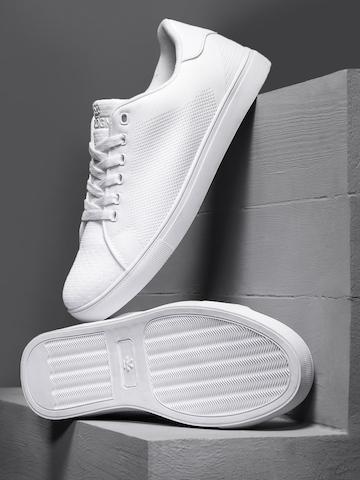 WROGN Men White Sneakers on Myntra