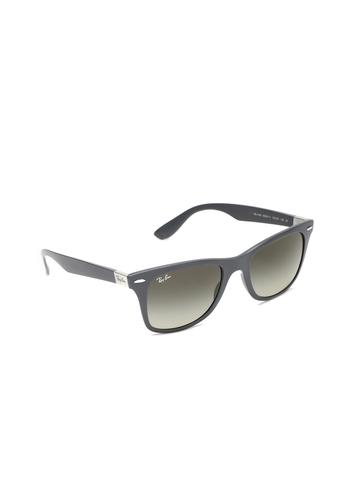 63bf00337f Buy Ray-Ban Retro Square Sunglasses(Grey) on Flipkart