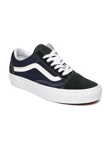 Buy Vans Unisex Navy Blue Old Skool