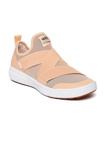 Buy Vans Unisex Peach-Coloured UltraRange Gore Slip-On Sneakers on Myntra  b9d11a9d8