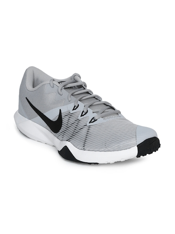 99e581373896 45% OFF on Nike Men Grey RETALIATION TR Training Shoes on Myntra ...