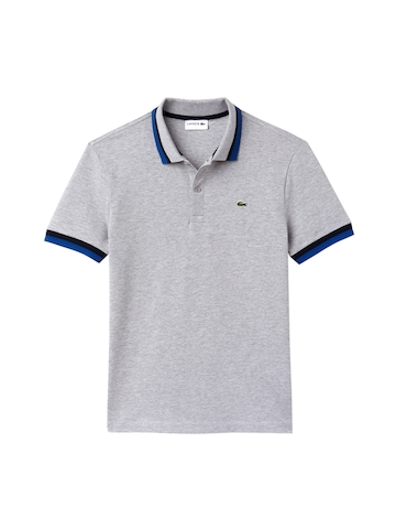9a880db37b6d Buy Lacoste Men Grey Solid Polo Collar T-shirt on Myntra ...
